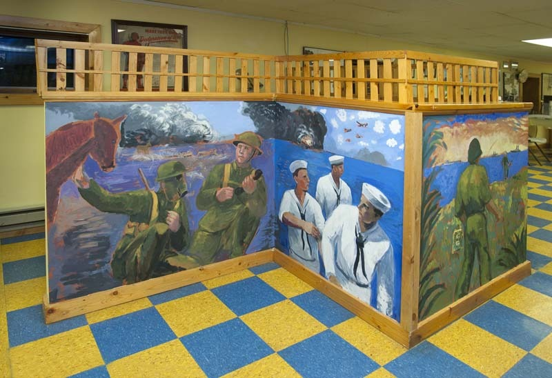 army wall murals